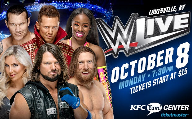 Wwe live kfc yum center m4hsunfo