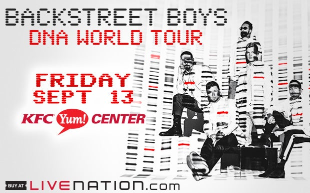 Backstreet Boys Dna World Tour Kfc Yum Center