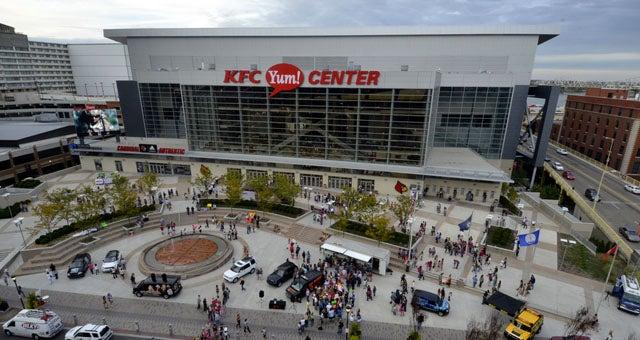 KFC YUM! Center | POPULOUS |Kfc Yum Arena