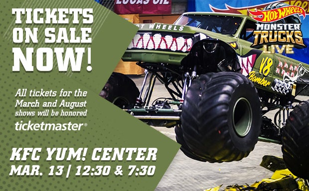 Hot Wheels Monster Trucks Live Kfc Yum Center