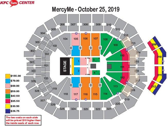 Mercyme Imagine Nation Tour Kfc Yum Center