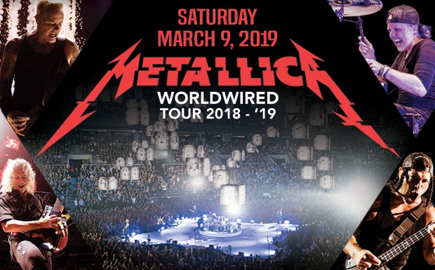 Resultado de imagen para metallica worldwired tour