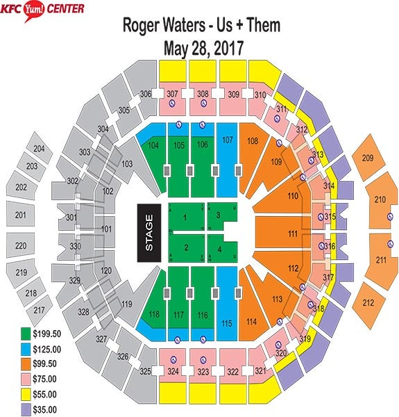 Roger Waters Web Map